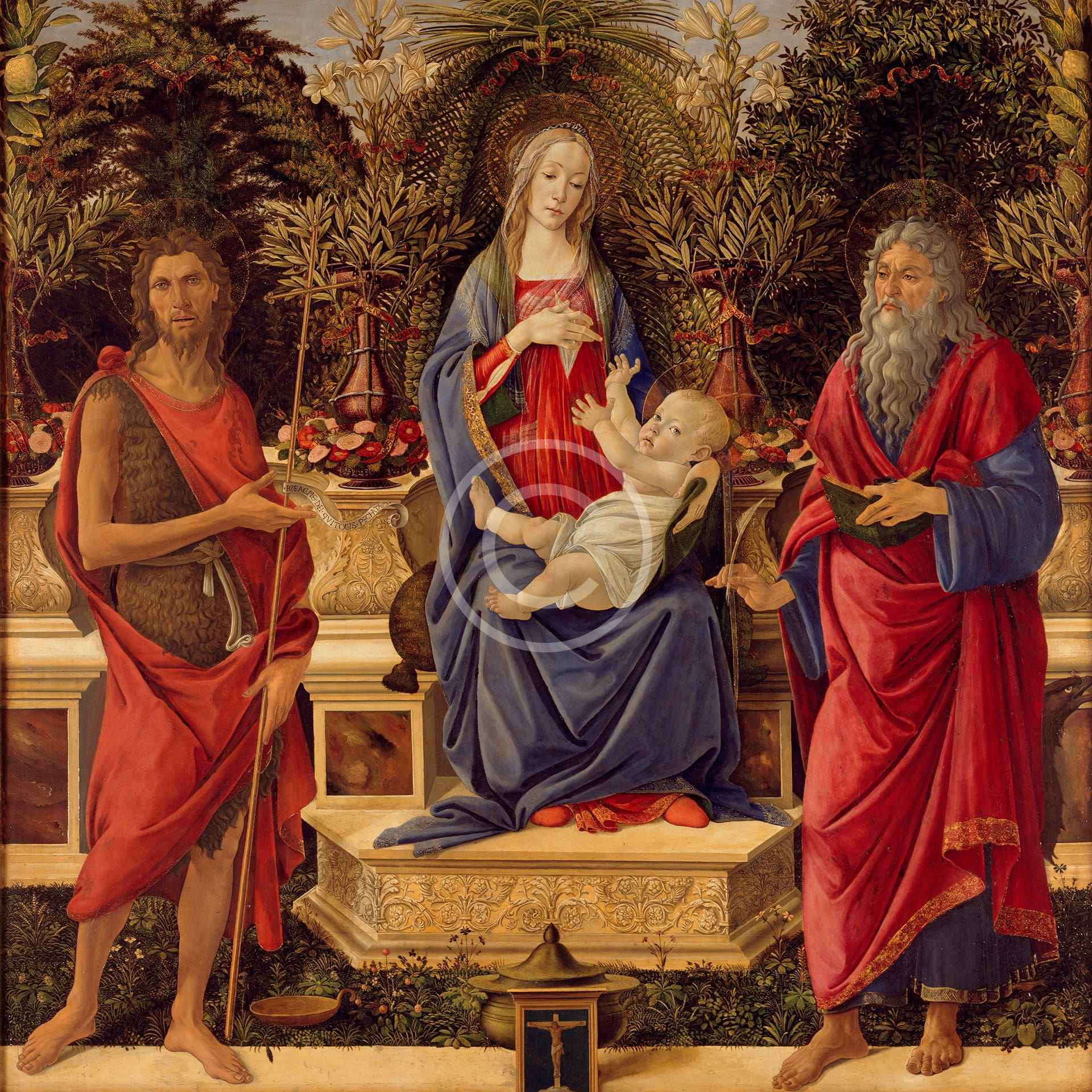 Madonna with Saints