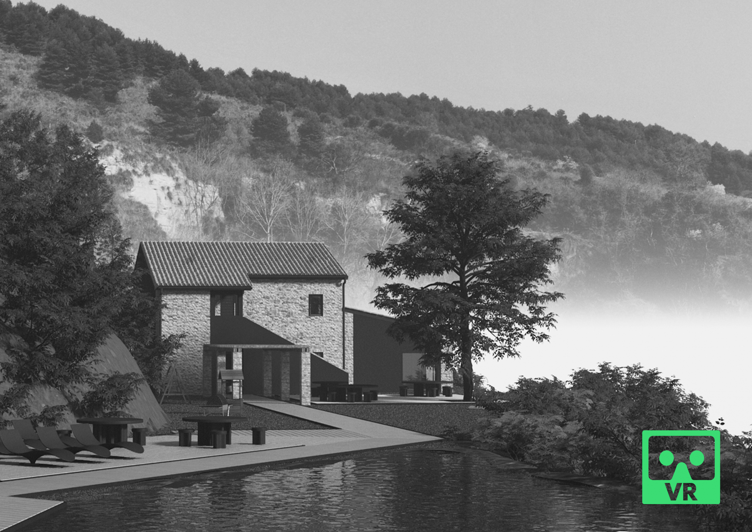 Wild Country House © VR